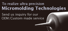 Microfabrication of plastic